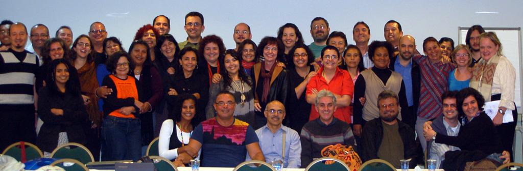 Participantes do Diálogo Latino-americano sobre Sexualidade e Geopolítica. 24 a 26 de agosto de 2009. Rio de Janeiro, Brasil.