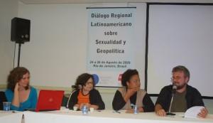 Corina Rodriguez, Gabriela Leite, Ana Paula da Silva e Thaddeus Blanchette