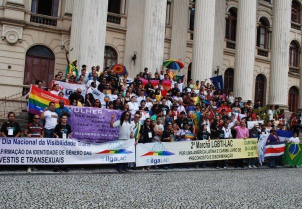 Participantes da V Conferência de ILGALAC